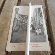 Cartes Postales: POSTAL DE TETUAN EDICION SANSO Y PERERA UNA CALLE BARRIO MORO. Lote 41386987