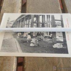 Postales: POSTAL DE TETUAN EDICION SANSO Y PERERA MORAS LAVANDERAS. Lote 41387226