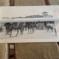 Cartes Postales: POSTAL DE TETUAN EDICION SANSO Y PERERA LOS GENERALES EN LA PLAZA DE ESPAÑA. Lote 41387614