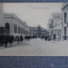 Postales: TETUAN CALLE DE ALFONSO XIII POSTAL ANTIGUA . Lote 41471152
