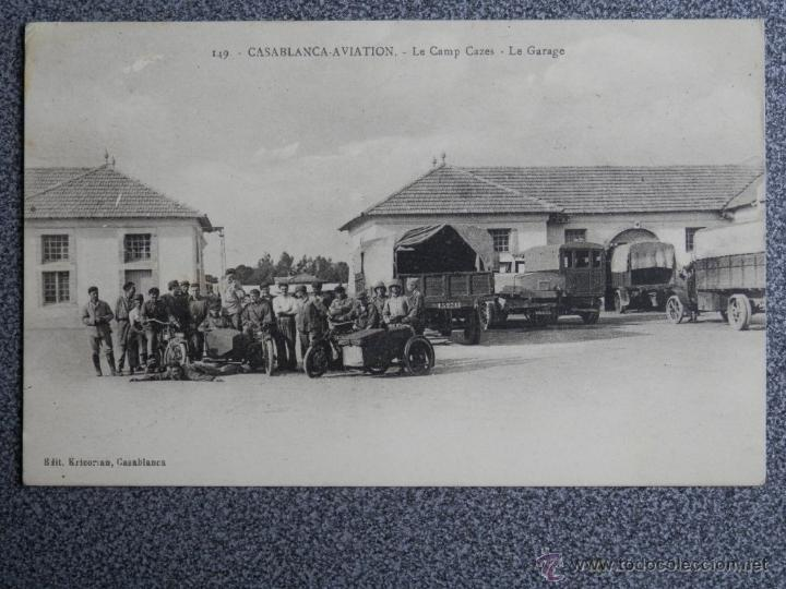 Postales: CASABLANCA AVIATION POSTAL ANTIGUA - Foto 1 - 41625611
