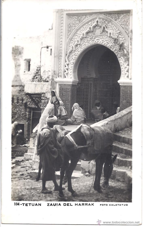 PS3965 TETUÁN 'ZAUIA DEL HARRAK'. FOTOGRÁFICA. FOTO CALATAYUD. CIRCULADA EN 1954 (Postales - Postales Temáticas - Ex Colonias y Protectorado Español)