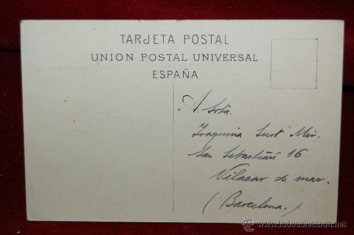 Postales: ANTIGUA POSTAL DE SANTA ISABEL DE FERNANDO POO. GUINEA ECUATORIAL. BAHIA. CIRCULADA - Foto 2 - 42516794