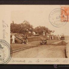Postales: POSTAL ANTIGUA - FERNANDO PÓO. DESMONTE EN LA AVENIDA DEL PRÍNCIPE - 1909 - CIRCULADA. Lote 42628718