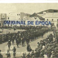 Postales: (PS-39673)POSTAL FOTOGRAFICA DE TETUAN-DESFILE POR LA PLAZA DE ESPAÑA. Lote 42652753