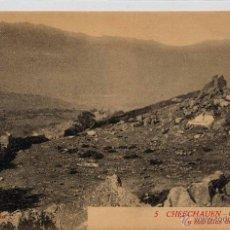 Postales: CHEFCHAUEN.- CEMENTERIO MORO Y MURALLAS DE LA CIUDAD.. Lote 44994349