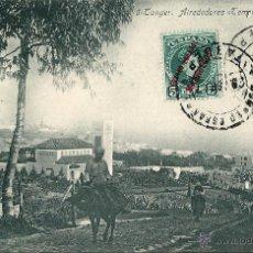 Postales: TANGER.ALREDEDORES (TEMPLO ANGELICANO).CORREO ESPAÑOL.MARRUECOS 1907. Lote 45248025