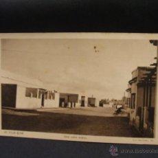 Postales: POSTAL - VILLA BENS - UNA CALLE NUEVA - FOTO HERNANDEZ GIL - . Lote 45927877