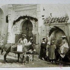 Postales: FOTO POSTAL ETNOGRAFICA DE TETUAN, PROTECTORADO ESPAÑOL EN MARRUECOS, REALIZADA POR FOT. LAZARO, CON. Lote 46478880