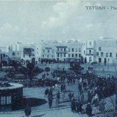 Postales: TETUAN - PLAZA DE ESPAÑA . Lote 46627048