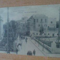 Postales: POSTAL LARACHE CALLE DE ALFONSO XIII. Lote 47265182