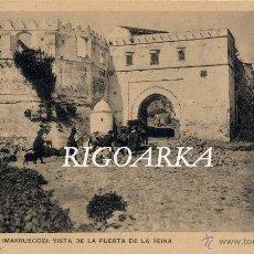 Postales: TETUAN.- VISTA DE LA PUERTA DE LA REINA. Lote 48333988