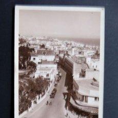 Postales: POSTAL DE TANGER / RUE DU STATUT VERS LA CASBAH / ED. LEBRUN. Lote 49624352