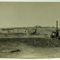Postales: FOTO POSTAL MONTE ARRUIT CAMPAÑA DEL RIF 1921 GUERRA MARRUECOS CAMPAMENTO GUARNICIÓN ESPAÑOLA SIN CI. Lote 49635120
