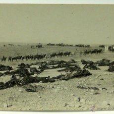 Postales: FOTO POSTAL MONTE ARRUIT CAMPAÑA DEL RIF 1921 GUERRA MARRUECOS RESTOS DE LOS ESCUADRONES SIN CIRCULA. Lote 49635475