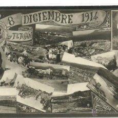 Postales: (PS-45805)POSTAL FOTOGRAFICA DE REGIMIENTO DE INFANTERIA UAD-RAS,COMIDA 8 DICIEMBRE DE 1914. Lote 49941149