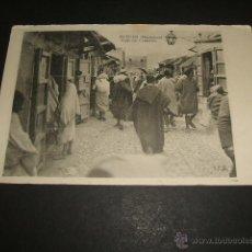 Postales: TETUAN MARRUECOS CALLE DEL COMERCIO. Lote 50997198