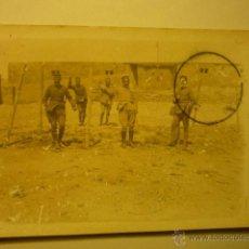 Postales: POSTAL MILITAR .-ESCRITA-1915-LLEVA SELLO TAMPON BATALLON DE CAZADORES......BB. Lote 52643635
