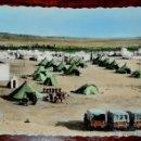 Postales: FOTO POSTAL DEL AAIUN, SAHARA ESPAÑOL, N. 403, CAMPAMENTO DE TRANSMISIONES, ED. GUERRERO, NO CIRCULA. Lote 52945477