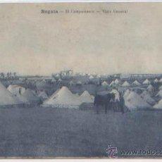 Postales: POSTAL REGAIA EL CAMPAMENTO VISTA GENERAL MARRUECOS ED. ARRIBAS N0 35 -- 1926. Lote 53015048