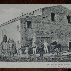 Postales: POSTAL DE DAR-GHAILAN, MARRUECOS ESPAÑOL, LARACHE, ALCAZAR DEPOSITO MILITAR DE VIVERES, ED. BIBIAN C. Lote 53096208