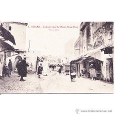 Postales: TETUAN CALLE PRINCIPAL DEL BARRIO MORO (AIUN). Lote 53104575