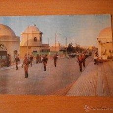 Postales: POSTAL SAHARA EL AAIUN EL PIQUETE ESCRITA. Lote 53145878