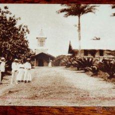 Postales: ANTIGUA POSTAL DE GUINEA ECUATORIAL ESPAÑOLA, RESIDENCIA DE LOS MISIONEROS DEL INMACULADO CORAZON DE. Lote 53533635