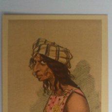 Postales: ANTIGUA POSTAL CARICATURAS MORAS COLOREADAS, TIPO DE RIFEÑA - Nº 11, DIBUJO MULLOR - MELILLA. Lote 53721249