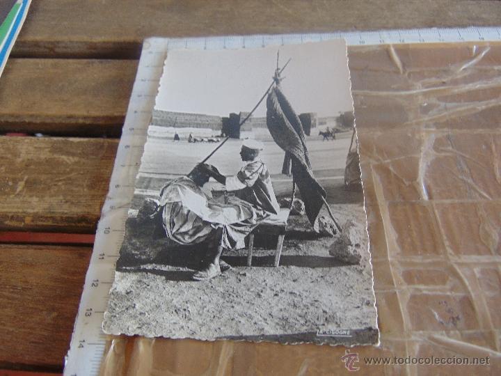 TARJETA POSTAL ESCENAS TIPICAS CASABLANCA MARRUECOS (Postales - Postales Temáticas - Ex Colonias y Protectorado Español)