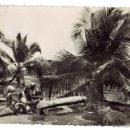 Postales: PS6490 FERNANDO POO 'PLAYA CARBONERAS'. HELIOTIPIA ARTÍSTICA. CIRCULADA. 1955. Lote 55098377