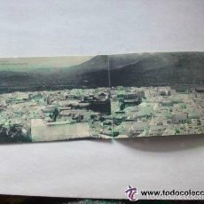 Postales: LOTE 2 POSTALES DE TETUAN UNIDAS FORMANDO LA VISTA GENERAL DE TETUAN .1922 .. DE HAUSER Y MENET. Lote 55280025