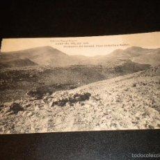 Postales: CAMPAÑA DEL RIF - 1921 OCUPACION DEL GURUGU, PICOS DE KOL-LA Y BASBEL / HAUSER Y MENET. Lote 56931965