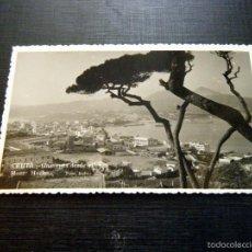 Postales: POSTAL CEUTA UNA VISTA DESDE EL MONT HACHO FOTO RUBIO. Lote 57841318