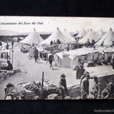 Postales: TARJETA POSTAL CAMPAMENTO DEL ZOCO DEL HAD. ED. BOIX HERMANOS. AÑOS 30. Lote 58020592