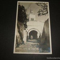 Postales: TETUAN CALLE DE SIDI SAIDA POSTAL FOTOGRAFICA FOTO GALVEZ AÑOS 30. Lote 59972151