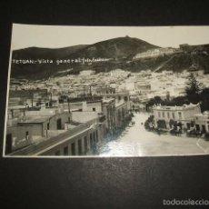 Postales: TETUAN VISTA GENERAL POSTAL FOTOGRAFICA FOTO CUADRADO AÑOS 30. Lote 59972447