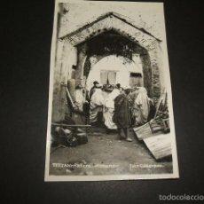 Postales: TETUAN RASTRO MORUNO POSTAL FOTOGRAFICA FOTO CUADRADO AÑOS 30. Lote 59999475