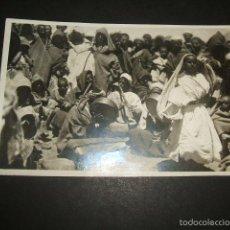 Postales: TETUAN MORITO BAILARIN DEL ZOCO POSTAL FOTOGRAFICA FOTO CUADRADO AÑOS 30. Lote 59999519