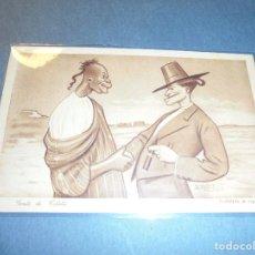 Postales: MELILLA - GUERRA DE AFRICA - HUMORISTICA 10 GENTE DE COLETA , D. MULLOR MELILLA - EDC. 1921 - 14X9 C. Lote 61916212