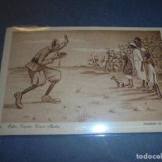 Postales: MELILLA - GUERRA DE AFRICA .- HUMORISTICA 3 - ESTAR QUIETO COMO PIEDRA EDC. 1921 D. MULLOR - MELILLA. Lote 61916868
