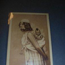 Postales: MELILLA - GUERRA DE AFRICA - HUMORISTICA , 2 - MADRE MORA EDC. 1921 D. MULLOR MALAGA , 14X9 CM. . Lote 61917036
