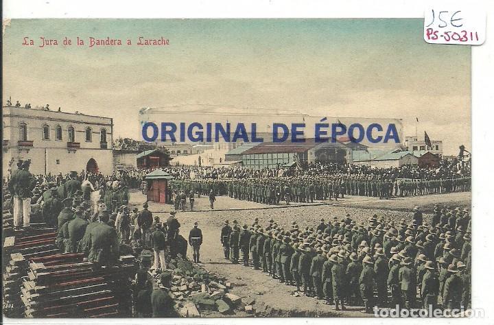 (PS-50311)POSTAL LA JURA DE BANDERA A LARACHE (Postales - Postales Temáticas - Ex Colonias y Protectorado Español)