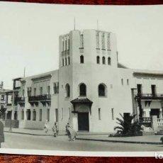 Postales: FOTO POSTAL DE LARACHE (MARRUECOS) CASA DE CORREOS Y TELEGRAFOS CIRCULADA EN 1935, ED. M. VEIGA. Lote 67462901
