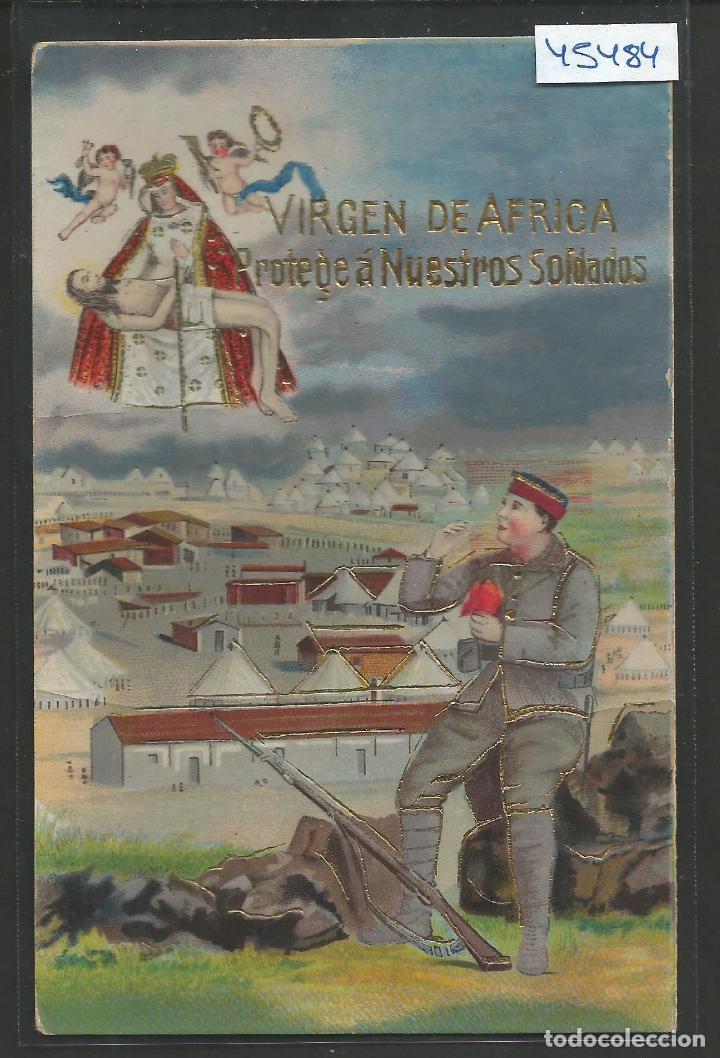 POSTAL GUERRA DE AFRICA - VER REVERSO -(45.484) (Postales - Postales Temáticas - Ex Colonias y Protectorado Español)