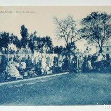 Postales: POSTAL DE ALCAZAR, ZOCO DE ABASTOS, N. 12, COL. ETOILE, PHOTO ALBERT, NO CIRCULADA.. Lote 68888617