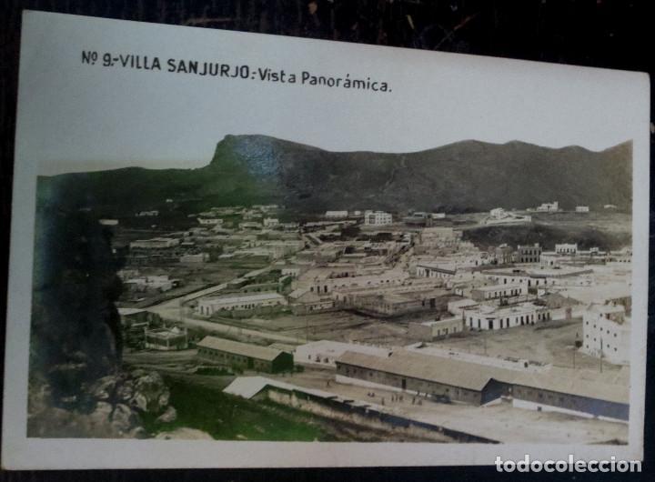 POSTAL FOTOGRÁFICA VILLA SANJURJO VISTA PANORÁMICA Nº 9 (Postales - Postales Temáticas - Ex Colonias y Protectorado Español)