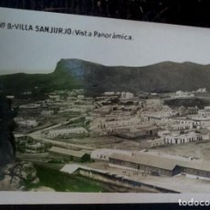 Postales: POSTAL FOTOGRÁFICA VILLA SANJURJO VISTA PANORÁMICA Nº 9 . Lote 72369535