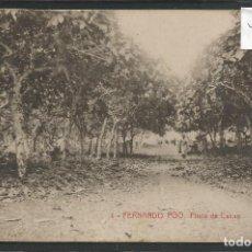 Postales: POSTAL ANTIGUA FERNANDO POO -VER REVERSO - (46.177). Lote 74479607
