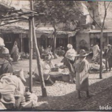 Postales: TETUAN (MARRUECOS ESPAÑOL) - ZOCO DEL PAN. Lote 77465221